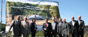1000 km Eisenbahn Radweg Wetter