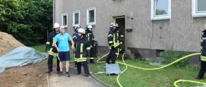 Feuerwehr Übung