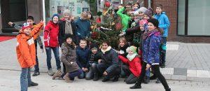 Weihnachtsbaum Kaiserstrasse 12/14